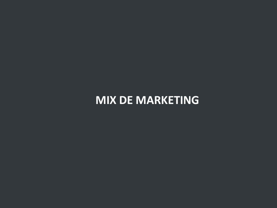 MIX DE MARKETING