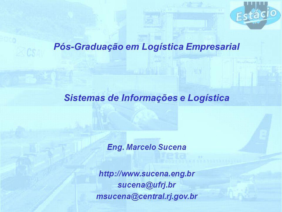 Pós-Graduação em Logística Empresarial Sistemas de Informações e Logística http://www.sucena.eng.br sucena@ufrj.br msucena@central.rj.gov.br Eng. Marc