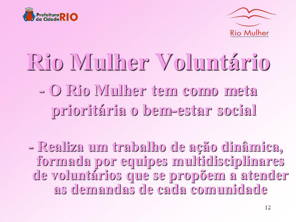 11 Mutirão da Solidariedade Parcerias e trabalho voluntário de profissionais das mais diversas áreas levando assistência às comunidades
