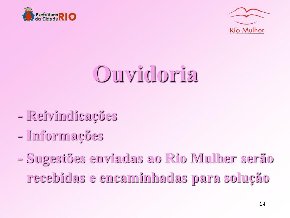 13 - O Rio Mulher Voluntário é um trabalho de solidariedade!