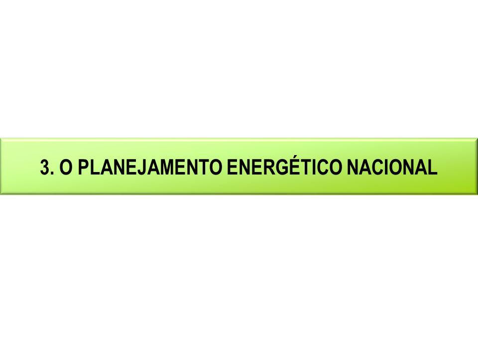 INSTRUMENTOS DO PLANEJAMENTO ENERGÉTICO Plano Decenal de Expansão de Energia - PDE 2011-2020 Visão integrada da expansão da demanda e da oferta de energéticos.