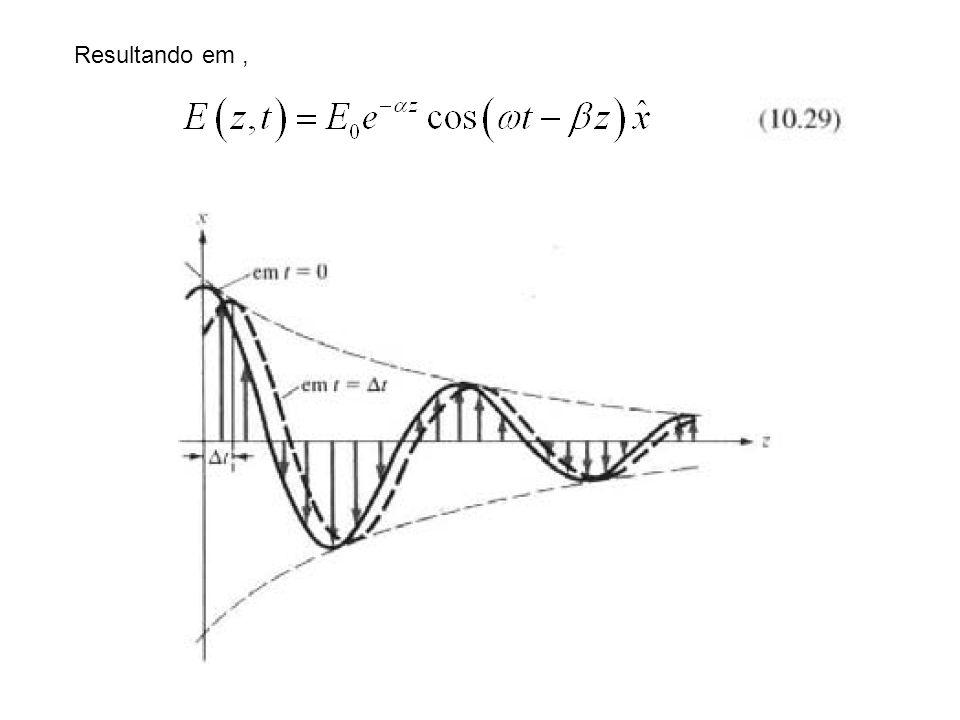 De forma analoga, pode ser obtida a solução da Eq.