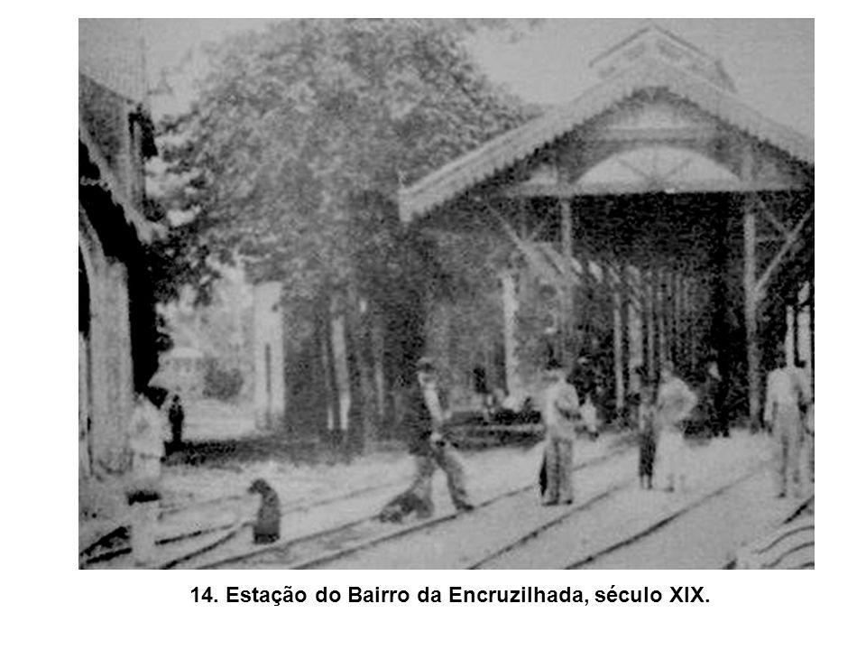 13. Fábrica de cigarros Lafayette (Rua do Imperador, fins do século XIX).