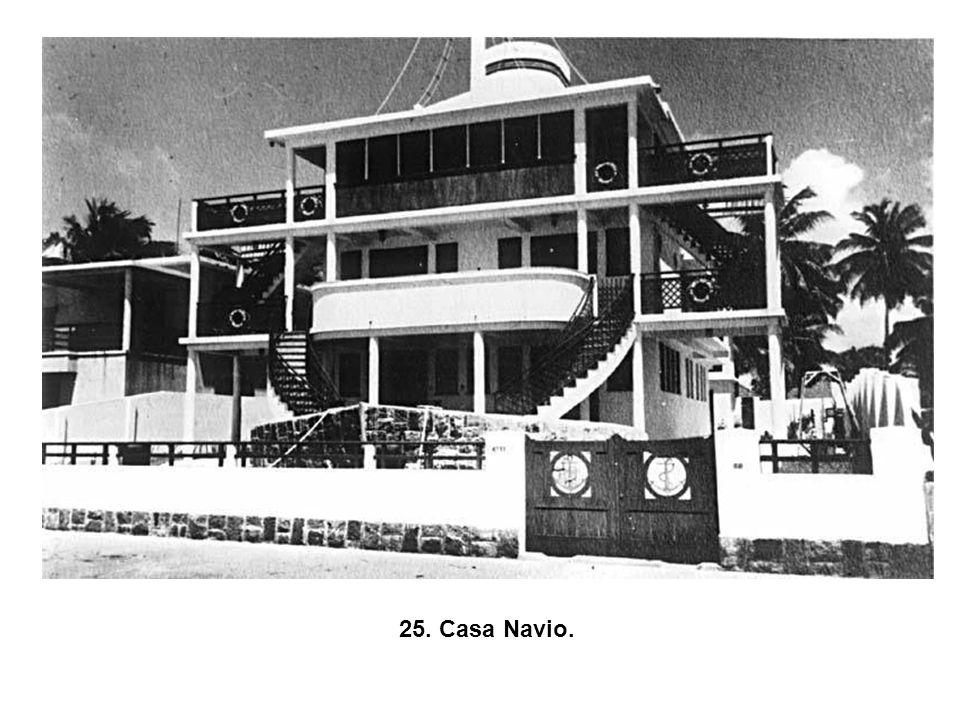 24. Casa Navio, Av. Boa Viagem (demolida).