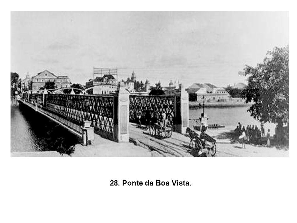 27.Casa de Banhos, sofreu um incêndio no começo de século XX e nunca foi reconstruída.