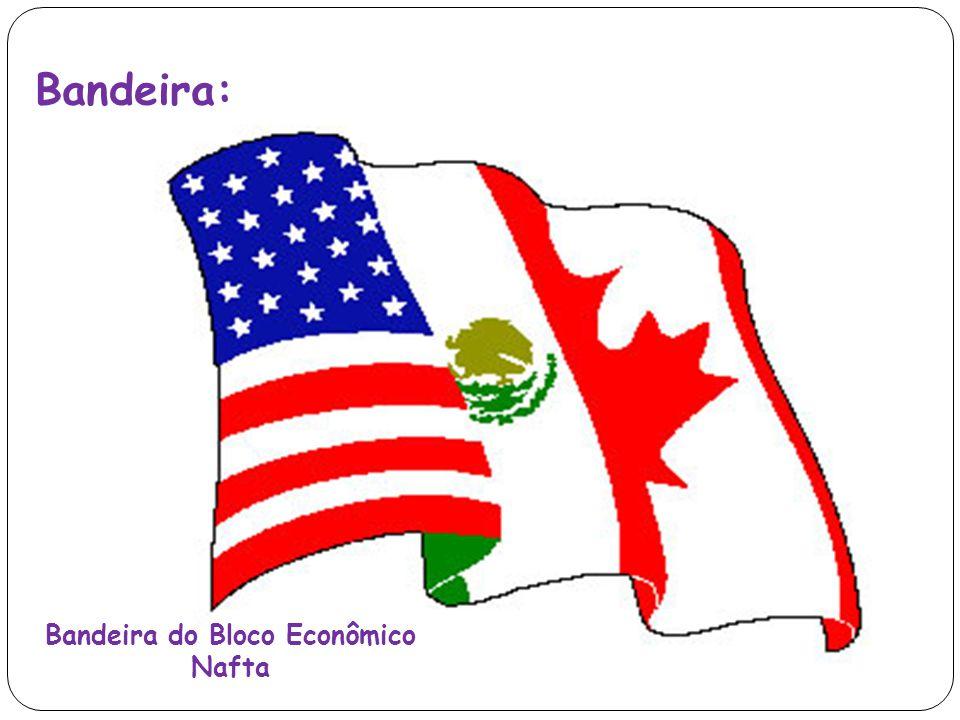 Bandeira: Bandeira do Bloco Econômico Nafta