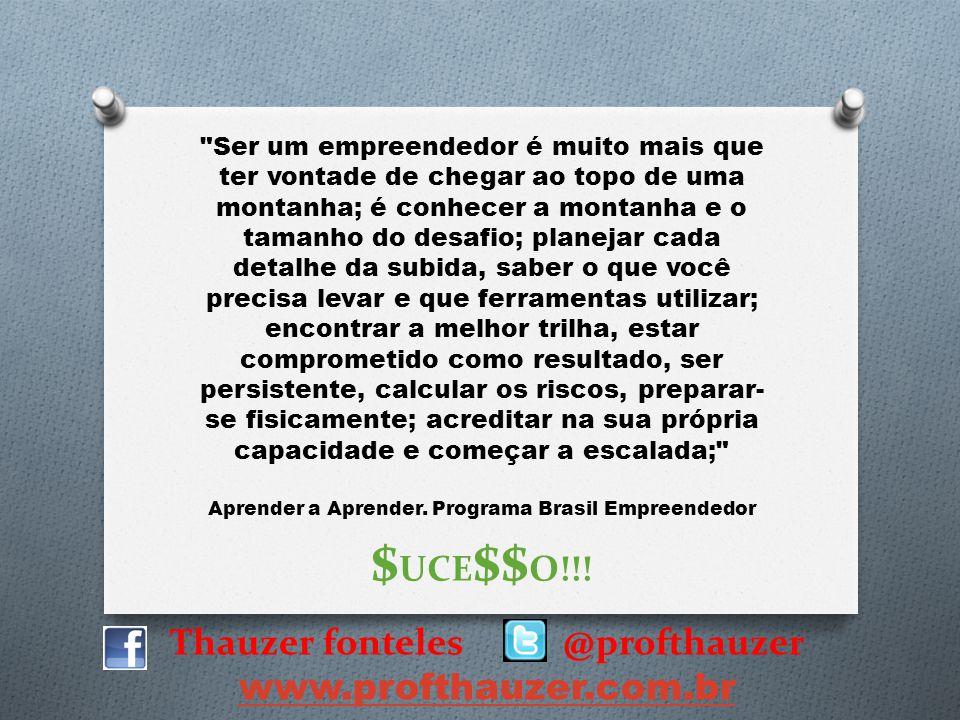 Thauzer fonteles @profthauzer www.profthauzer.com.br