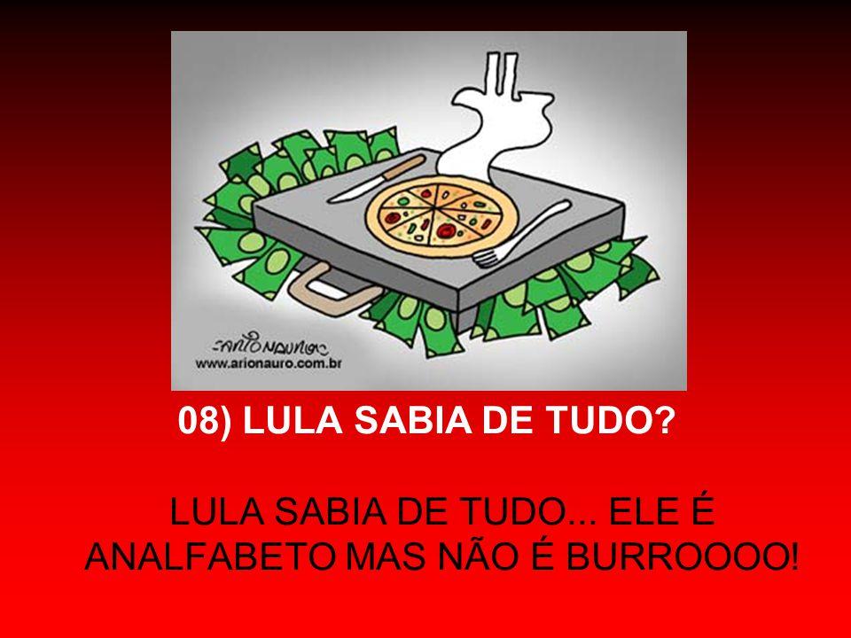 Em síntese: A FACÇÃO DO PT LIDERADA POR JOSÉ DIRCEU: - ROUBOU (inicialmente as prefeituras e depois o Estado Brasileiro); - MATOU (Celso Daniel); - CORROMPEU (Deputados para se fortalecer); - MENTIU (tentando incriminar, tão-somente, Roberto Jefferson); - TRAIU (seus próprios integrantes) - E AINDA QUER NOS FAZER DE IDIOTAS !