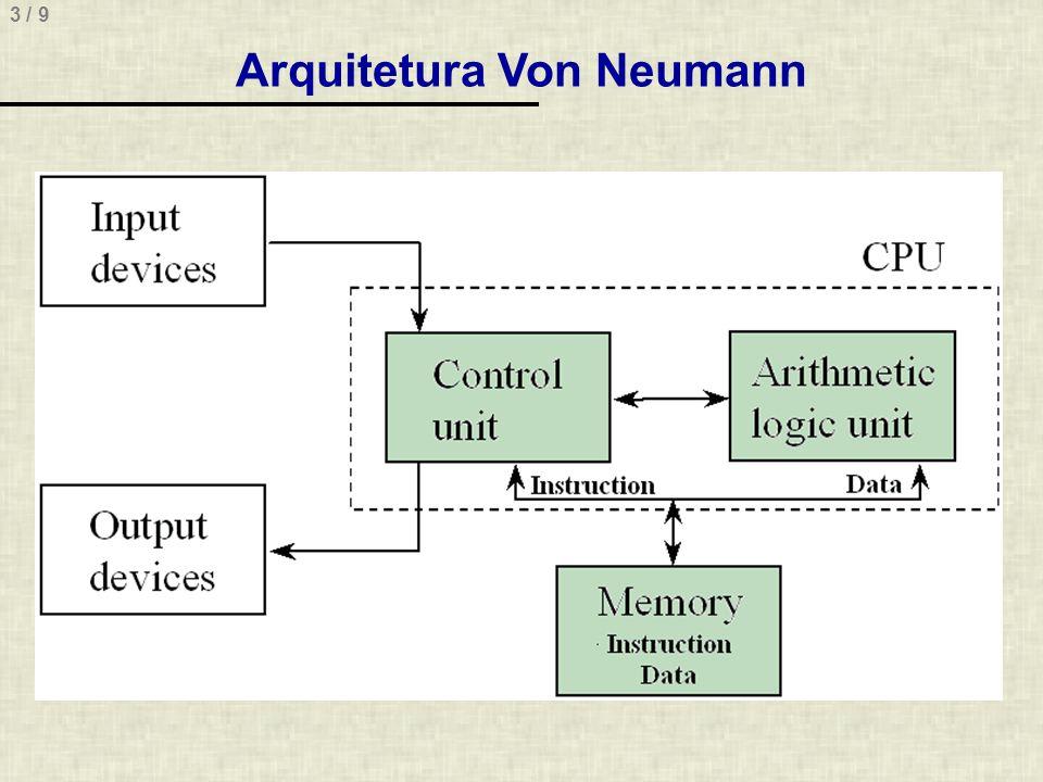 3 / 9 Arquitetura Von Neumann