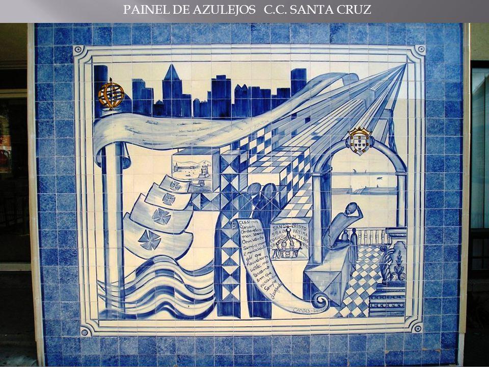 PAINEL DE AZULEJOS C.C. SANTA CRUZ