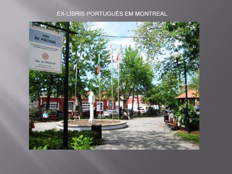 EX-LÍBRIS PORTUGUÊS EM MONTREAL