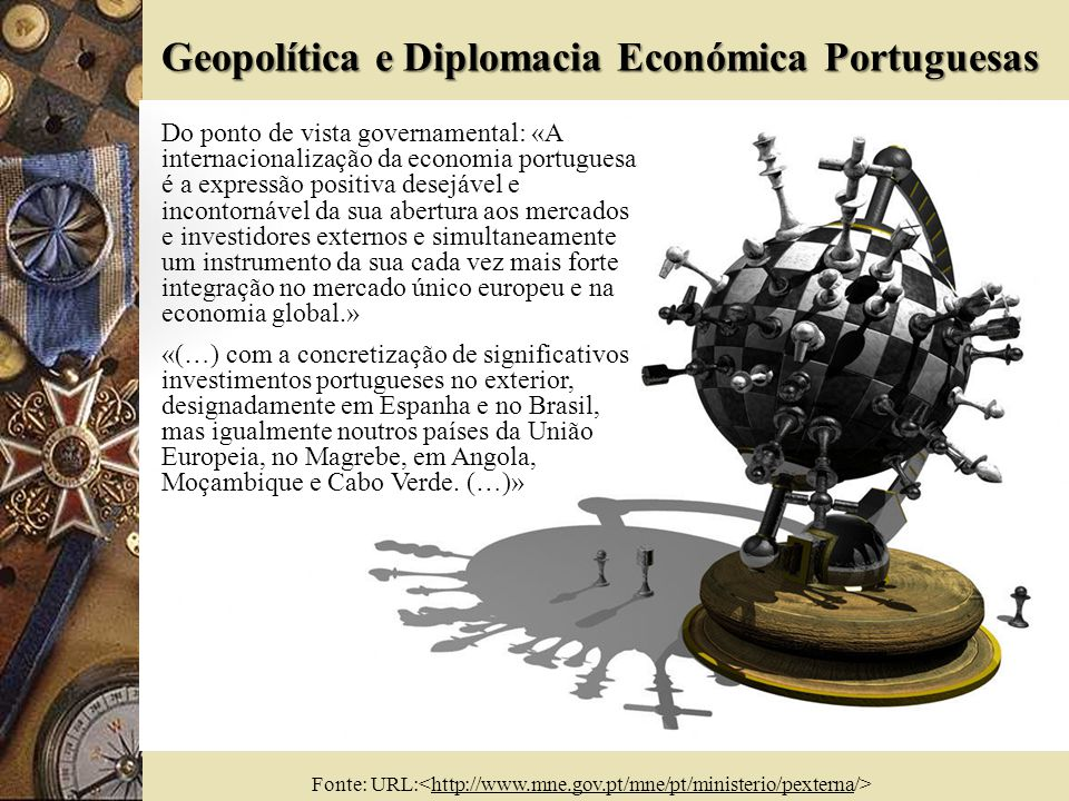 6 Geopolítica.Portugal só é um país periférico na Europa.