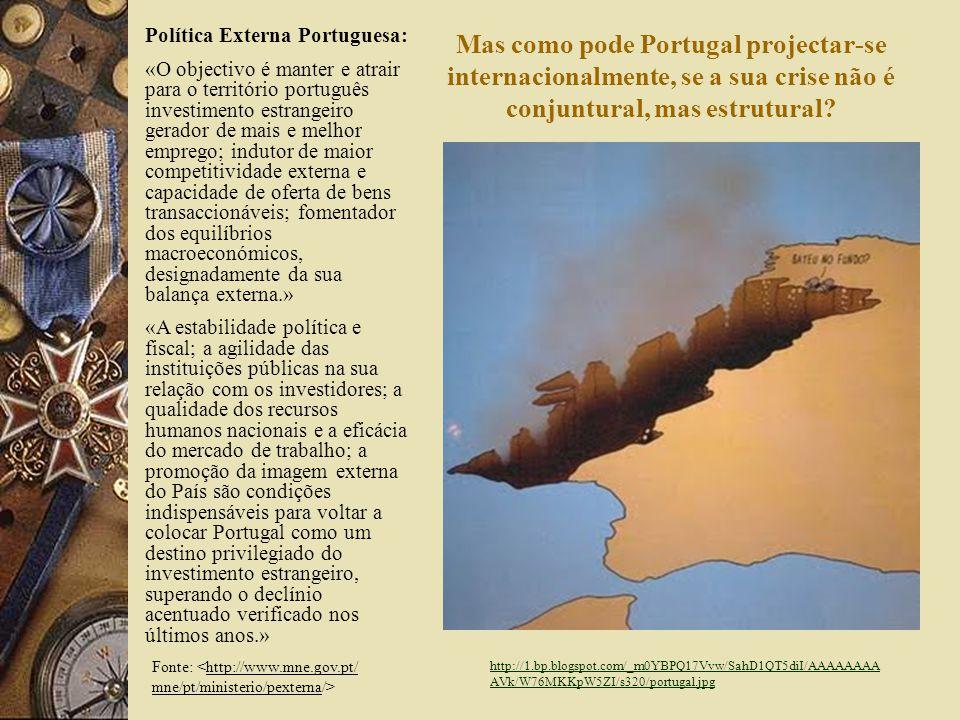 8 Alguns problemas estruturais portugueses: Elevado deficit externo; Elevado deficit das contas públicas; Elevada desigualdade económica e social; Falta de produtividade e de competitividade do capital humano.