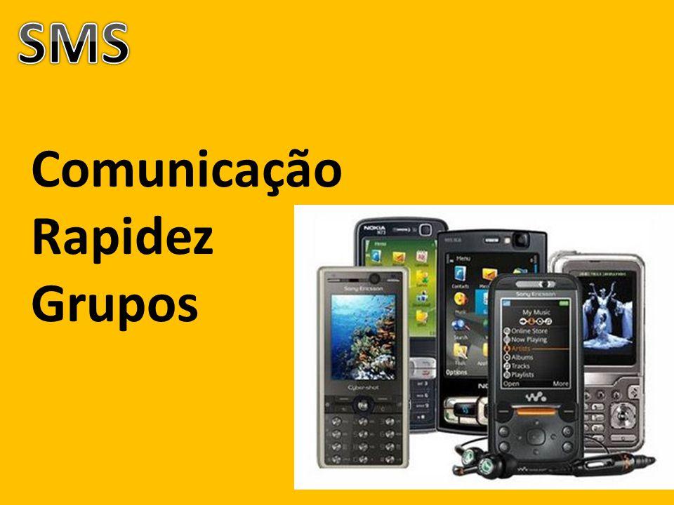 Comunicação Rapidez Grupos