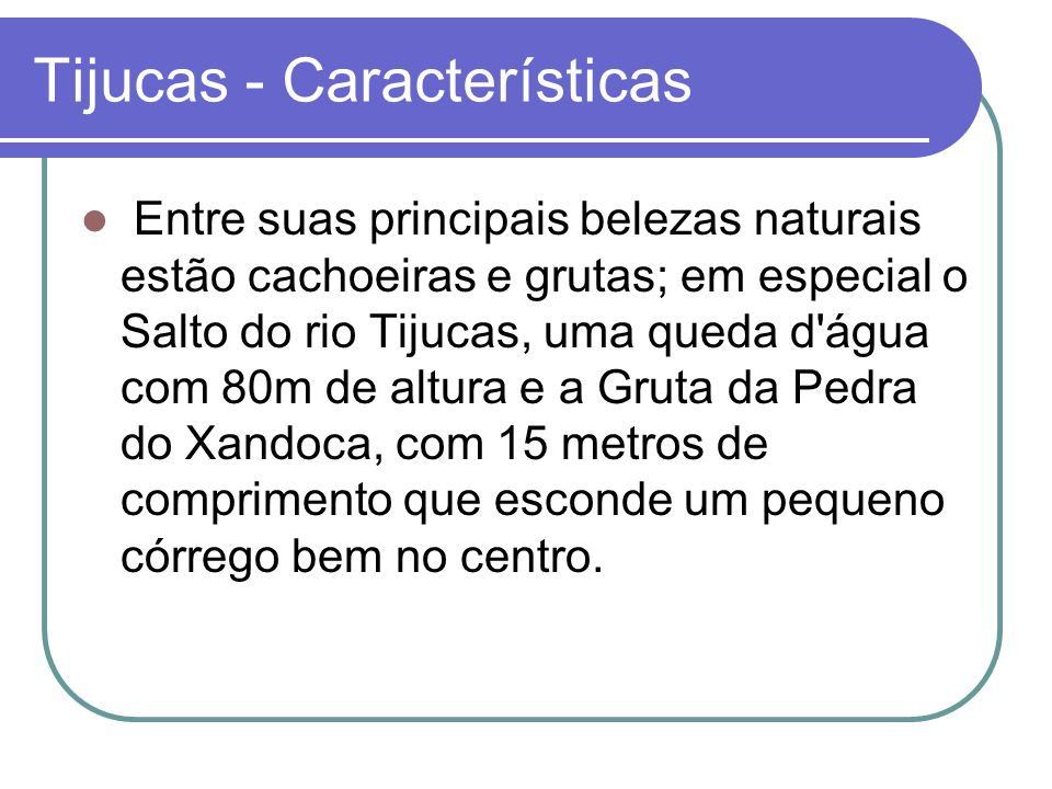 Tijucas - Características Entre suas principais belezas naturais estão cachoeiras e grutas; em especial o Salto do rio Tijucas, uma queda d'água com 8