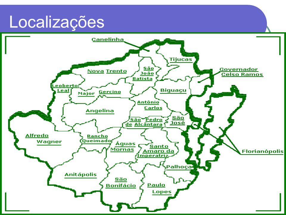 Localizações