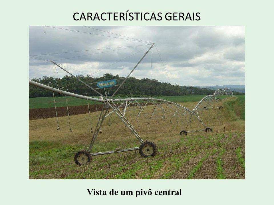 CARACTERÍSTICAS GERAIS Vista de um pivô central
