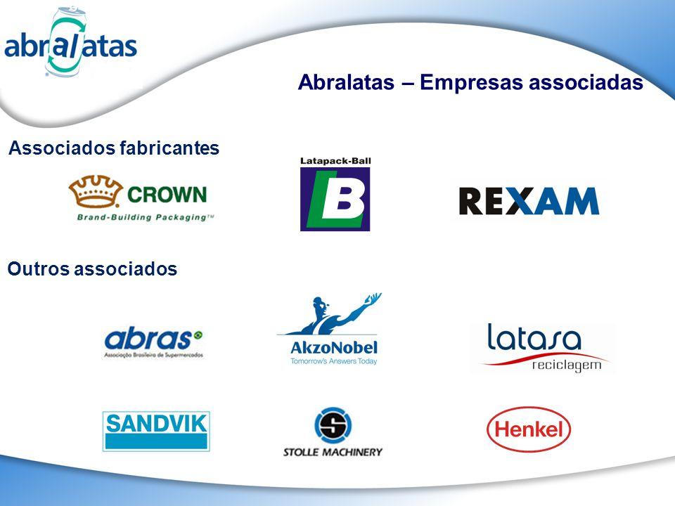 Abralatas – Empresas associadas Outros associados Associados fabricantes