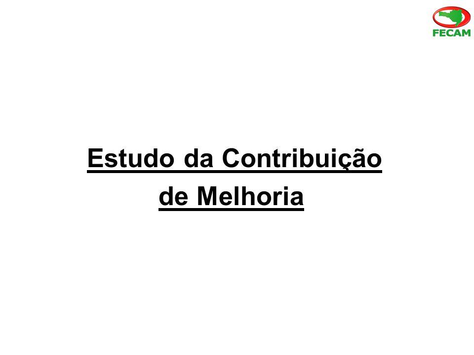 Estudo da Contribuição de Melhoria Metodologia de instituição e cobrança Princípio da irretroatividade: A lei que institui a contribuição de melhoria não abarcará fatos geradores ocorridos antes do início de sua vigência.