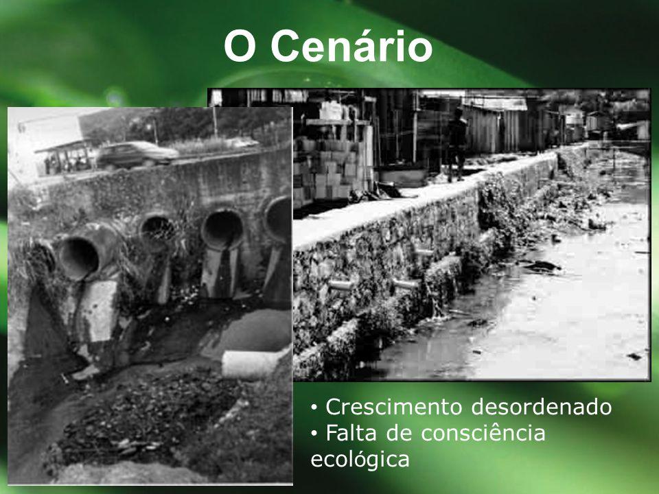 Solu ç ões convencionais são extremamente caras e complexas O CENÁRIO Carência de recursos na área de saneamento básico