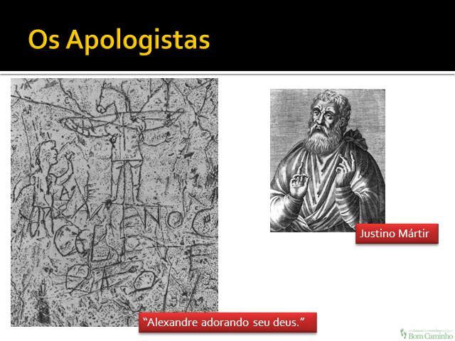 Justino Mártir Alexandre adorando seu deus.