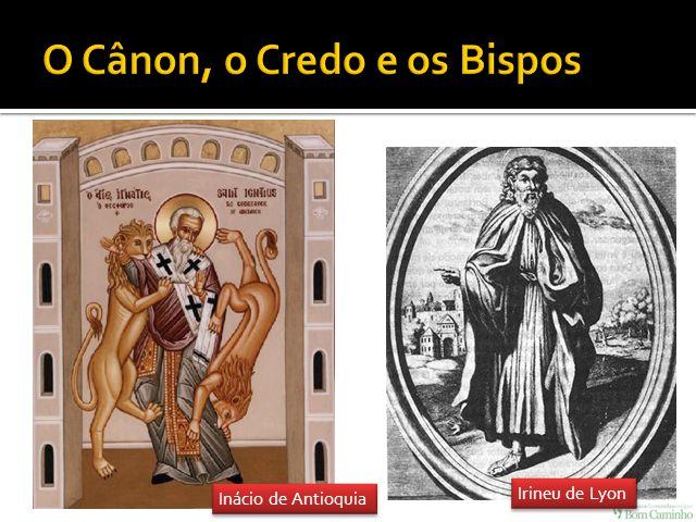 Inácio de Antioquia Irineu de Lyon