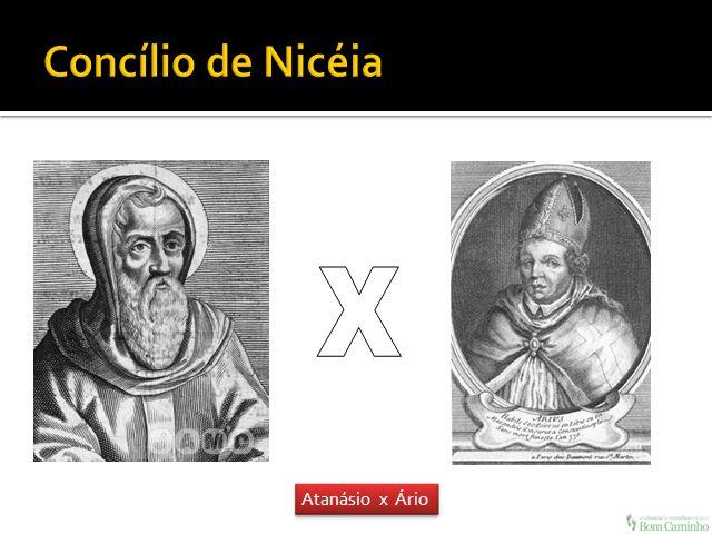 Atanásio x Ário