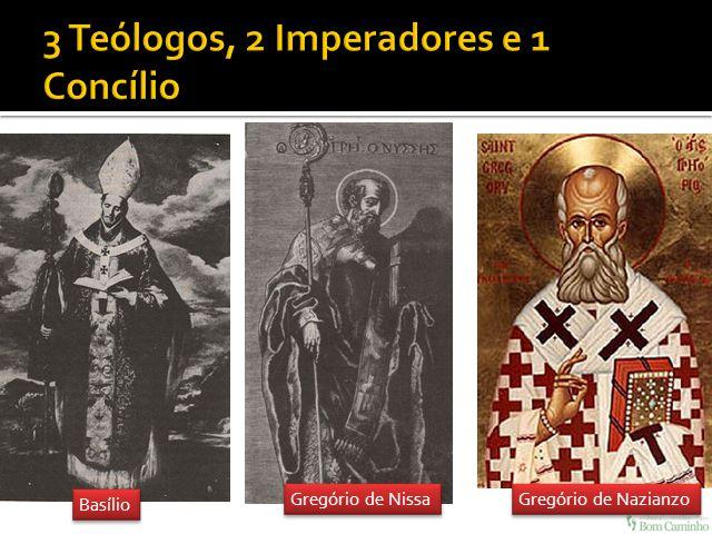 Basílio Gregório de Nissa Gregório de Nazianzo