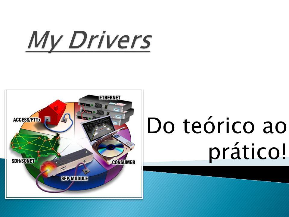 Drivers são pequenos programas que fazem a ligação entre o sistema operacional (Windows) e o hardware (Drive da Placa Mãe, teclado, mouse, monitor, etc.).