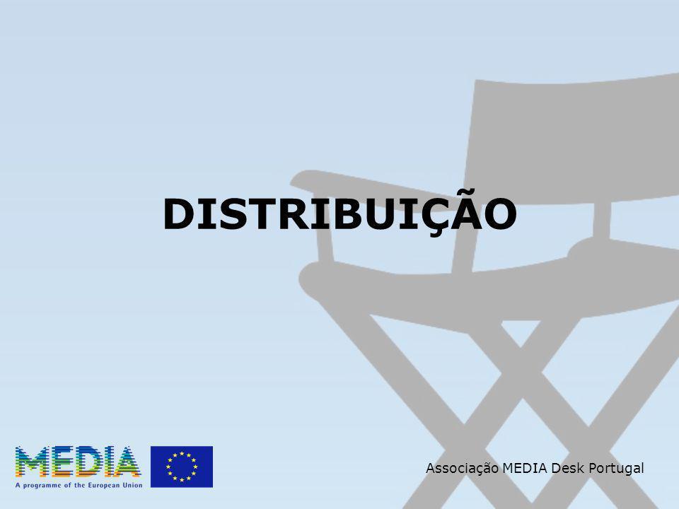 Apoio a Agentes de Vendas Internacionais 2- Fase de Reinvestimento O Fundo gerado deve ser reinvestido: 1.Garantias mínimas de vendas ou adiantamentos pela venda internacional de novos filmes europeus 2.Custos de promoção e divulgação de novos filmes europeus Associação MEDIA Desk Portugal