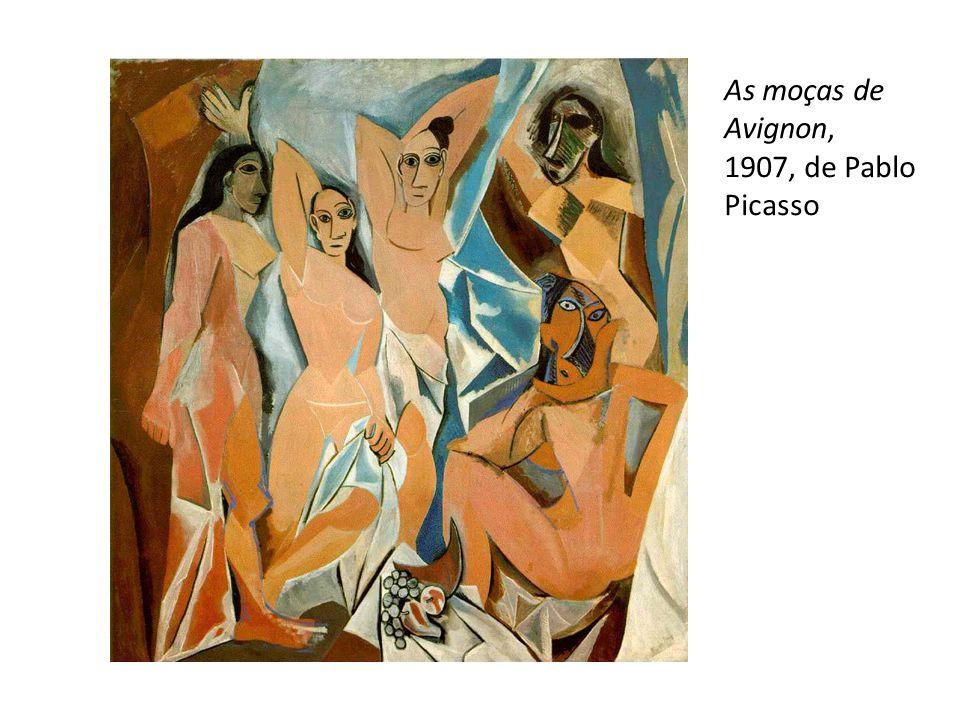 As moças de Avignon, 1907, de Pablo Picasso