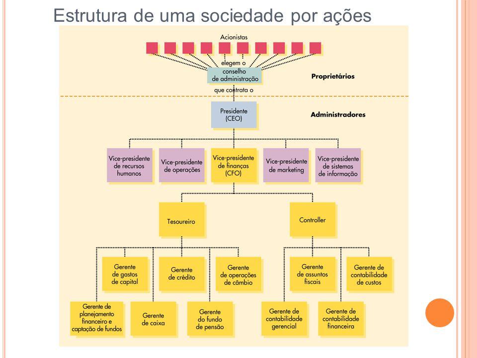 Estrutura de uma sociedade por ações