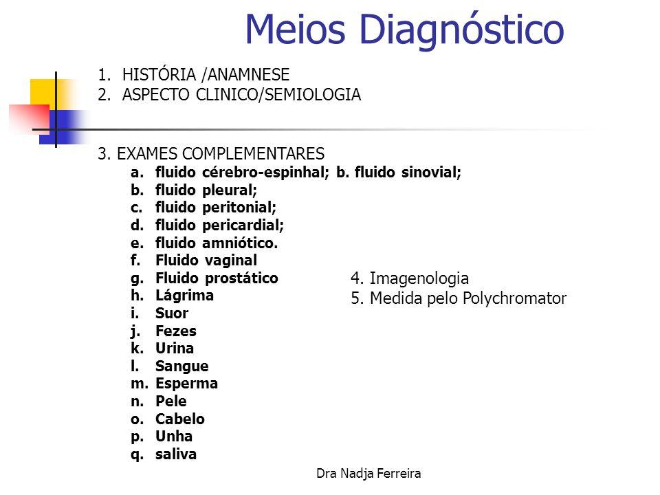 Dra Nadja Ferreira NEXO CAUSAL, de LOCAL e EPIDEMIOLÓGICO 1.