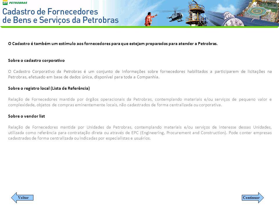 ENTENDA O CRCC DA PETROBRASINVESTIMENTOS NO BRASILVANTAGENS FINANCEIRAS NOSSOS SERVIÇOSHISTÓRIAS DE SUCESSOORÇAMENTO