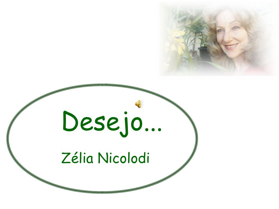 Desejo... Zélia Nicolodi