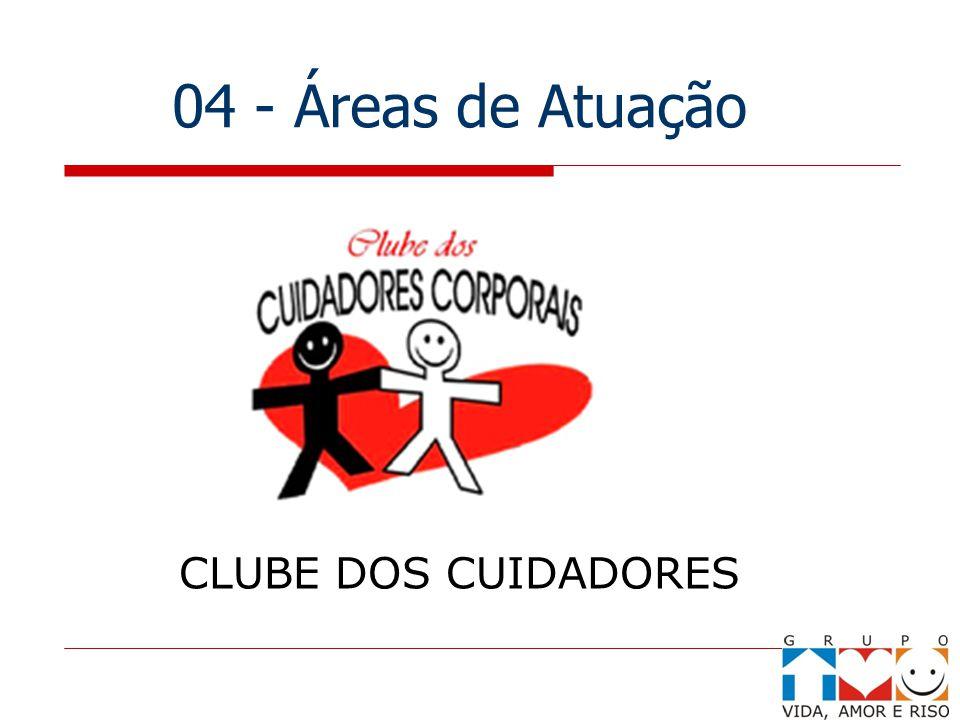 04 - Áreas de Atuação CLUBE DOS CUIDADORES