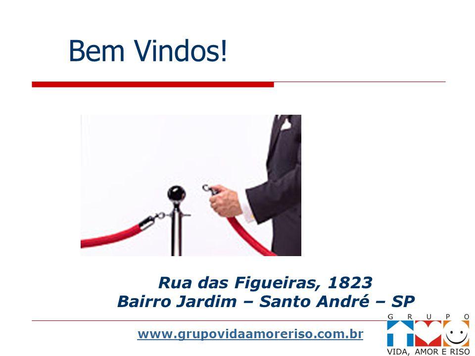 Bem Vindos! Rua das Figueiras, 1823 Bairro Jardim – Santo André – SP www.grupovidaamoreriso.com.br