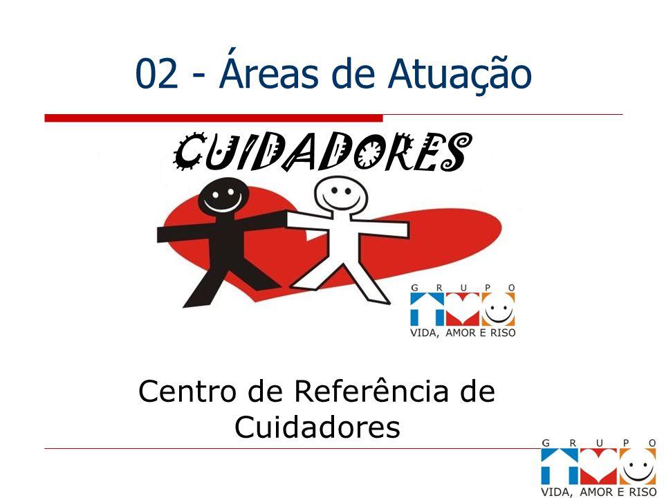 02 - Áreas de Atuação Centro de Referência de Cuidadores CUIDADORES