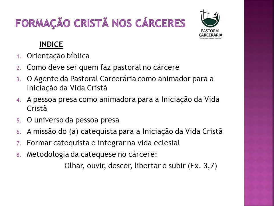 9.O modo de proceder de Deus e a pedagogia catequética 10.