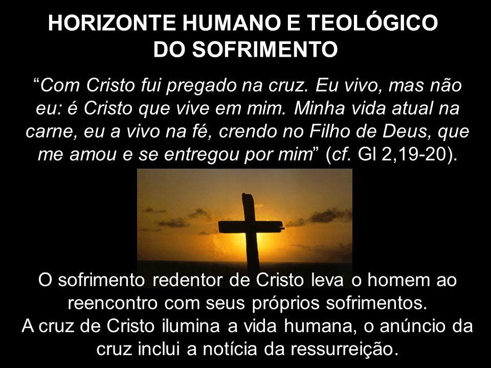 Com Cristo fui pregado na cruz. Eu vivo, mas não eu: é Cristo que vive em mim. Minha vida atual na carne, eu a vivo na fé, crendo no Filho de Deus, qu