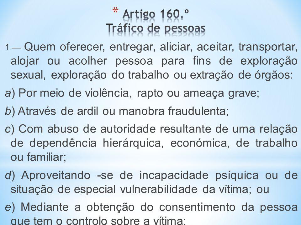 A coordenação deste Plano [II Plano Nacional contra o Tráfico de Seres Humanos]é da responsabilidade da Comissão para a Cidadania e Igualdade de Género (CIG), mas a execução das acções depende da participação dos diversos parceiros envolvidos.