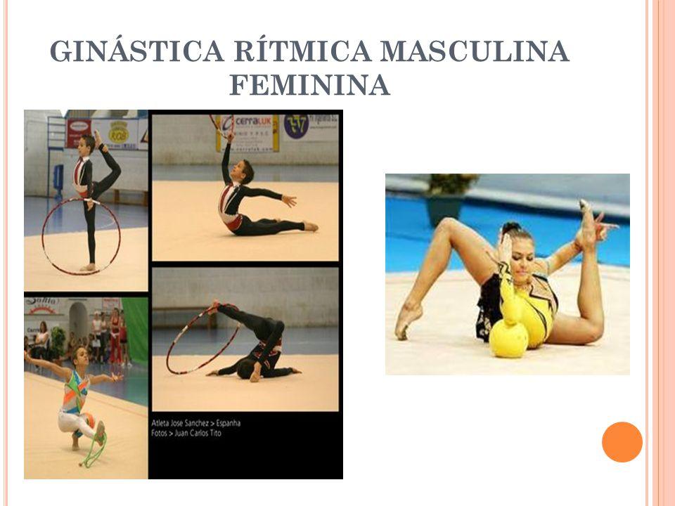GINÁSTICA AERÓBICA ESPORTIVA É uma ginástica coreografada, que exige força, habilidade e agilidade.