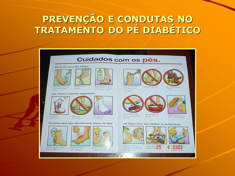 Como prevenir complicações do pé diabético??