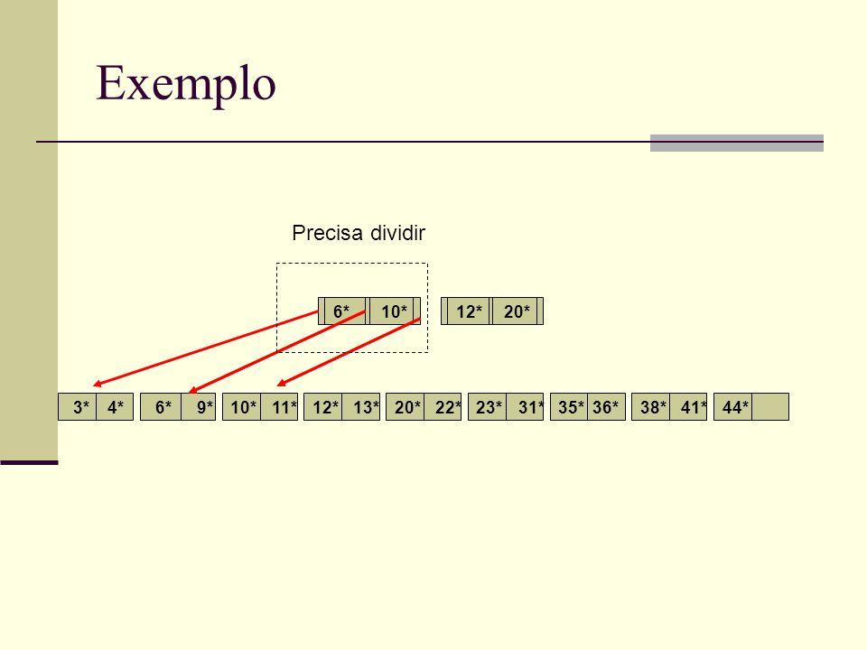 Exemplo 3*4*6*9*10*11*12*13*20*22*23*31*35*36*38*41*44* 6*12*10*20* Páginas restantes a alocar