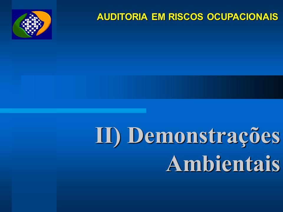AUDITORIA EM RISCOS OCUPACIONAIS Histórico Contextualização NOSSAS METAS ATENUAR O DESEQUILÍBRIO FINANCEIRO: CUSTEIO X BENEFÍCIO ACIDENTÁRIO PERSUADIR
