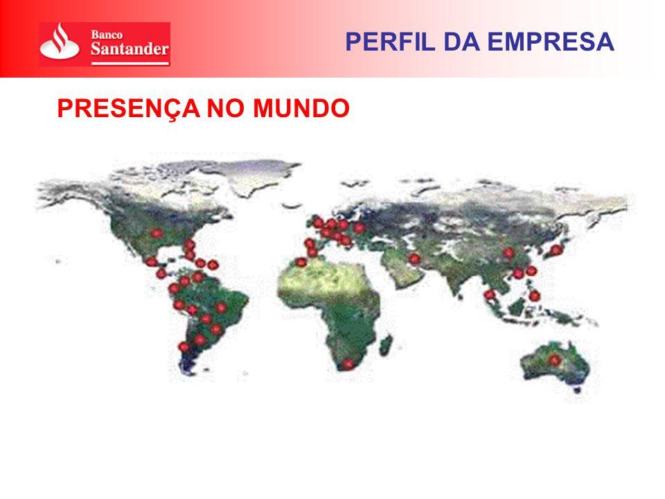 PRESENÇA NO MUNDO PERFIL DA EMPRESA