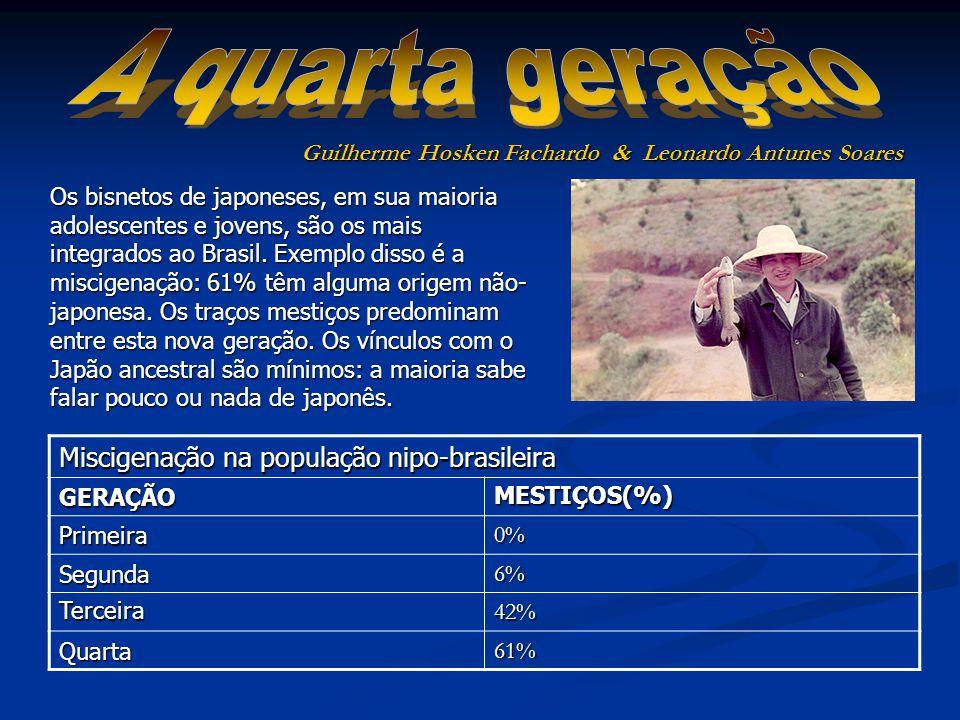 Os bisnetos de japoneses, em sua maioria adolescentes e jovens, são os mais integrados ao Brasil.