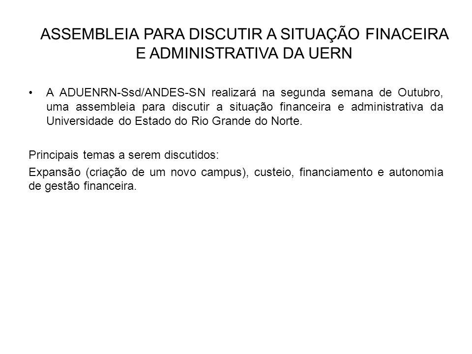 Posse do novo reitor da UERN Dia 28 de Setembro, na Assembleia Universitária que marcará os 45 anos da Universidade do Estado do Rio Grande do Norte, o professor Pedro Fernandes, será empossado Reitor da UERN.