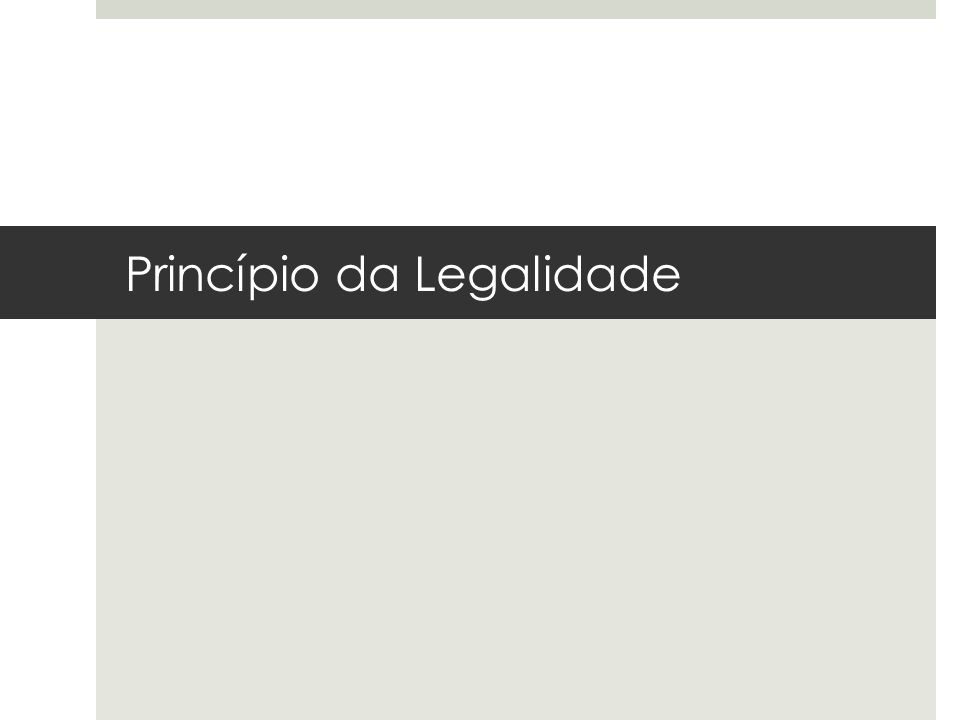 O princípio da legalidade encontra-se expressamente disposto em nossa Constituição Federal nos seguintes artigos: Art.