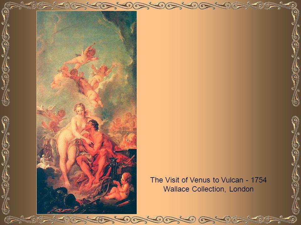 Vulcan Presenting Venus with Arms for Aeneas - 1732 Musée du Louvre - Paris